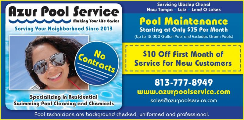 Azur Pool Service Pool Service In Land O Lakes